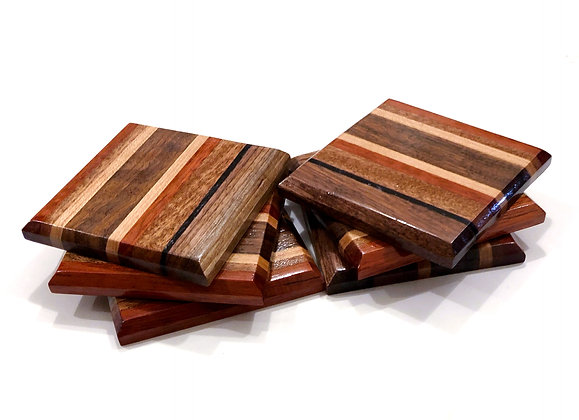 Exotic Coasters (Set of Six)