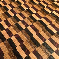 Cutting Board (end grain detail)