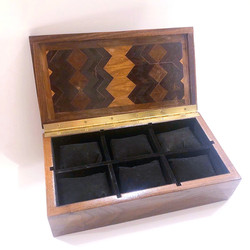 6 Section Watch box
