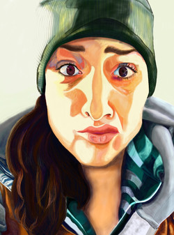 Work Self Portrait