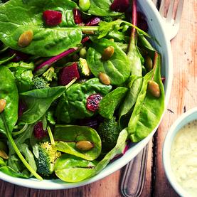 Salada Verde e Nutritiva