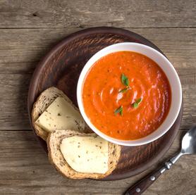 Sopa de Tomate e Pimentão