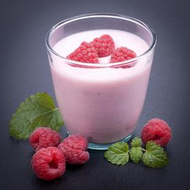 Iogurte de Framboesa