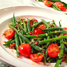 Salada de Vagens com Tomates