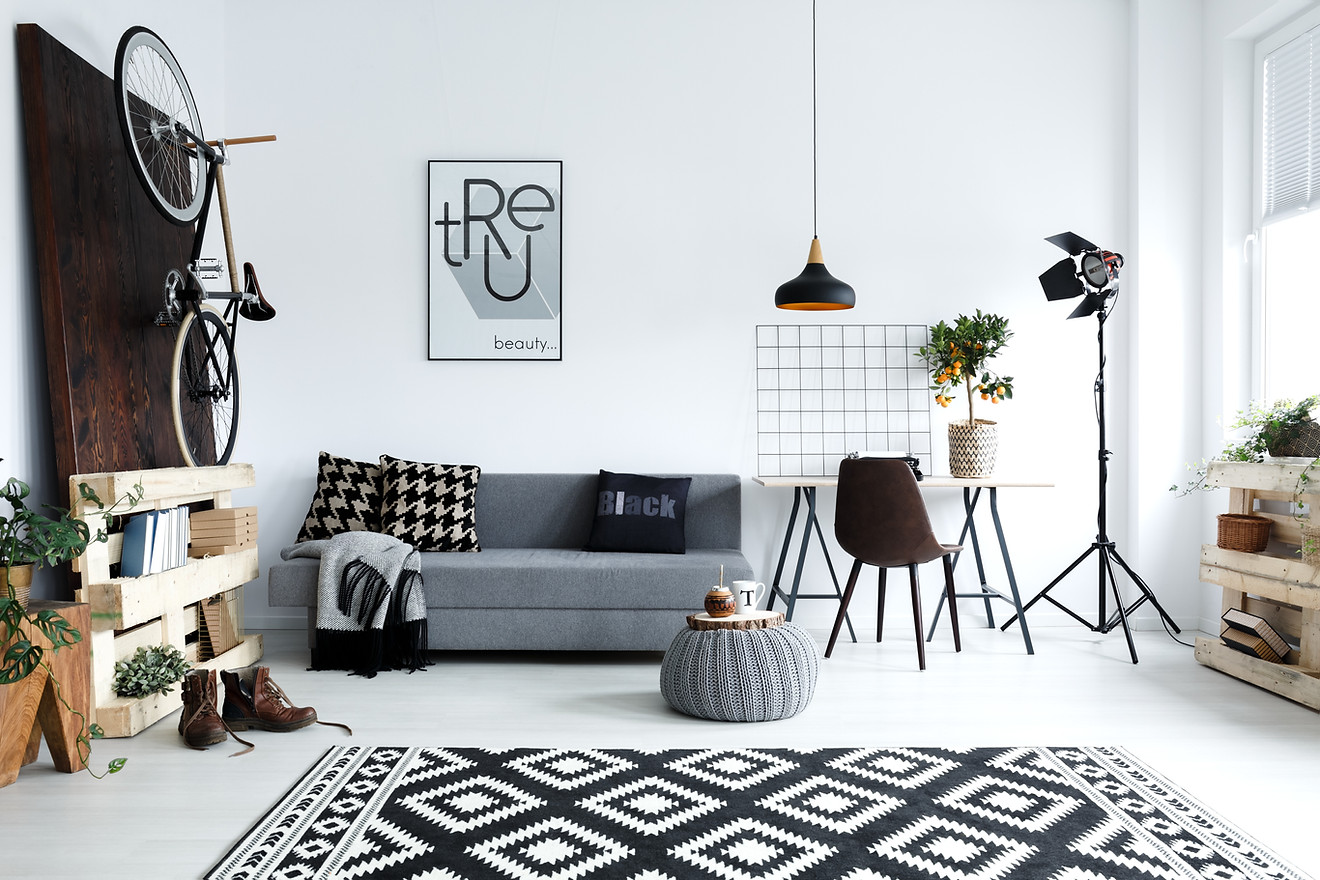 Use INTERESTING OBJECTS for a unique look.