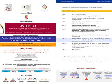 Convegno ASS.I.R.C.CO. a Gaeta (LT)