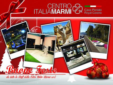 Buone Feste dalla Centro Italia Marmi