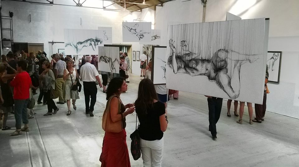 "Expo ""Nus en suspension"" 2014"