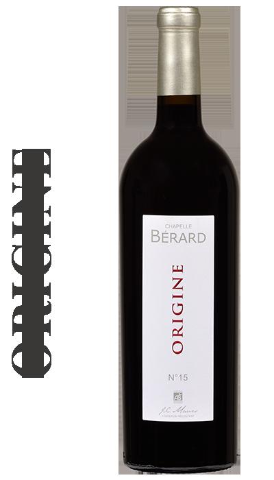 DOMAINE CHAPELLE BERARD, Cuvée Origine n°15, J-C Mauro