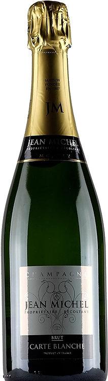 CHAMPAGNE JEAN MICHEL , Cuvée Carte Blanche Brut, Jean Michel