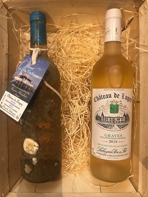 CHÂTEAU DE LUGEY, Bourriche Terre/Mer Blanc, Franck Labeyrie