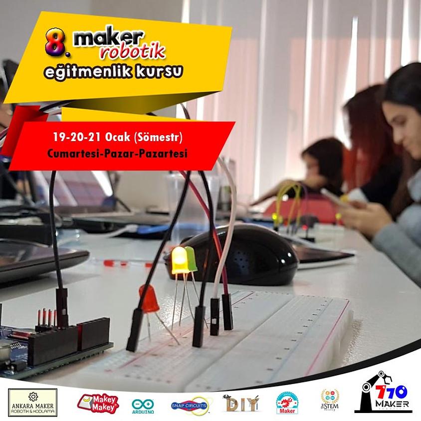 8. Maker Öğretmen Eğitimi | 3 gün