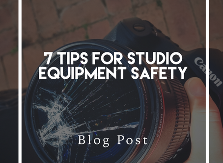 7 Tips for  Studio Equipment Safety