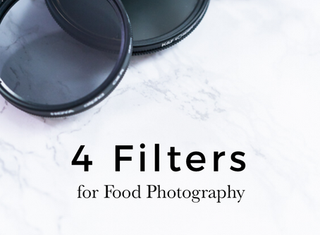 Four Filters for Food Photography