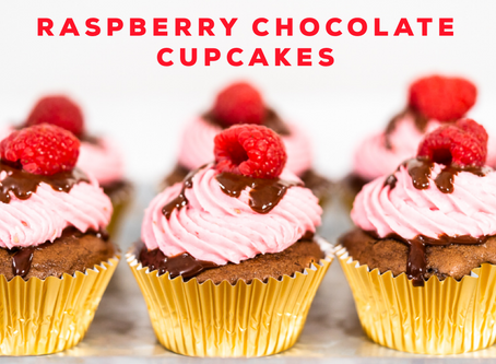 Raspberry Chocolate Cupcakes