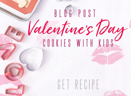 The Valentine's Day Sugar Cookie with kids