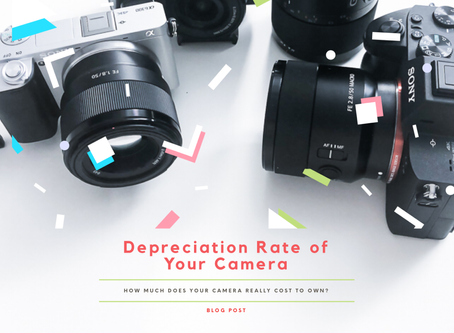 Depreciation Rate of Your Camera