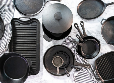 Guide to using Cast Iron Cookware