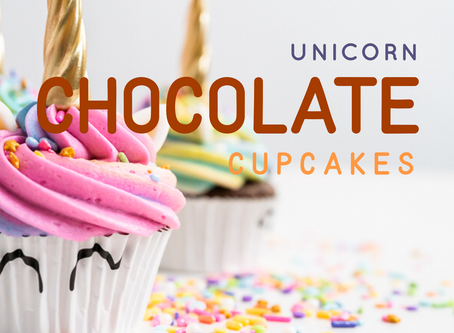 Unicorn Chocolate Cupcakes