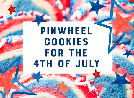 Pinwheel Cookies for the 4th of July
