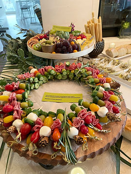 Custom Cheese grazing table