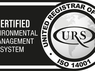 Good News! We've passed  ISO 9001 Quality, ISO 14001 Environment and ISO 27001 Information Secur