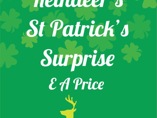The Reindeer's St Patricks Surprise