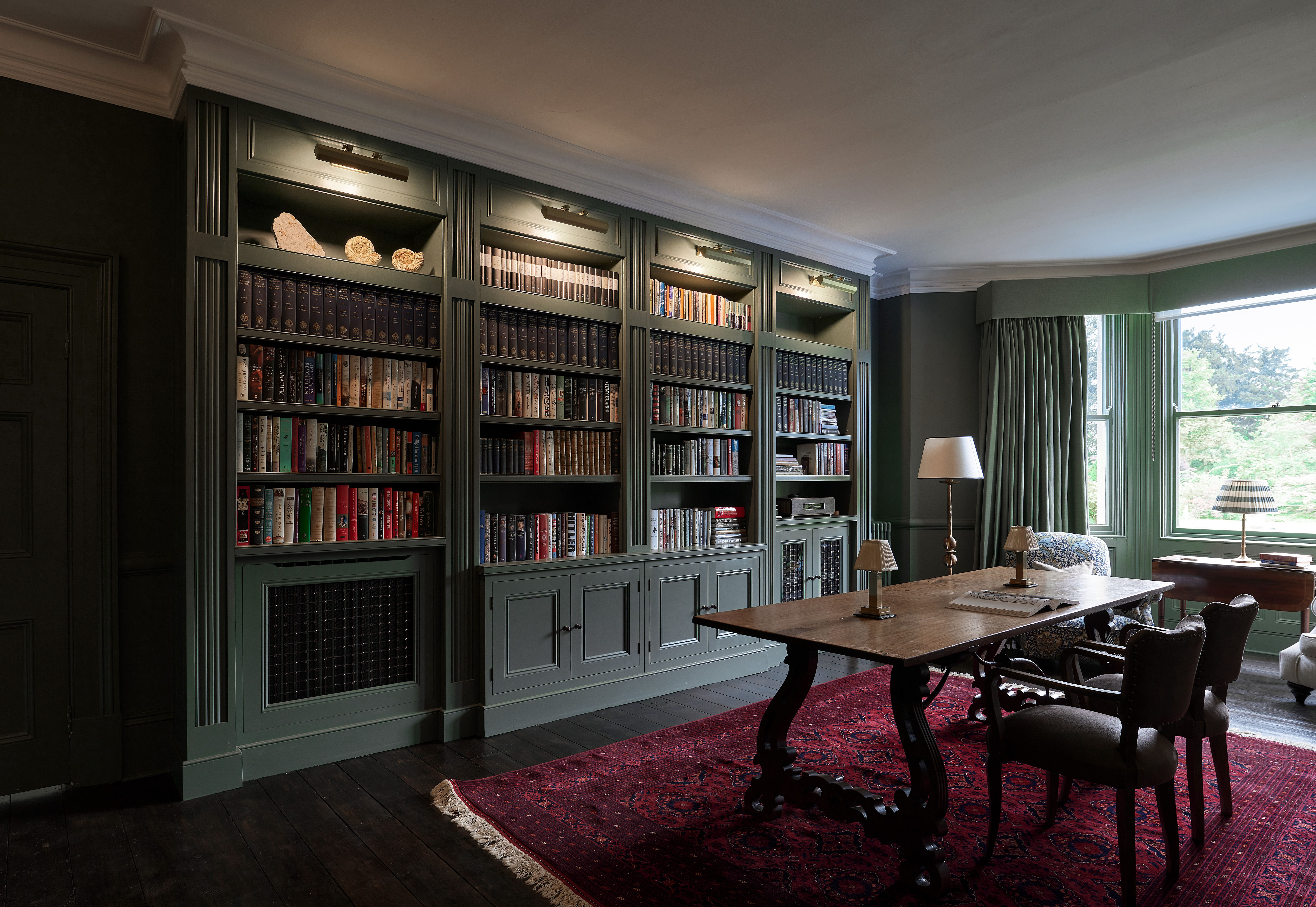 Library bespoke joinery