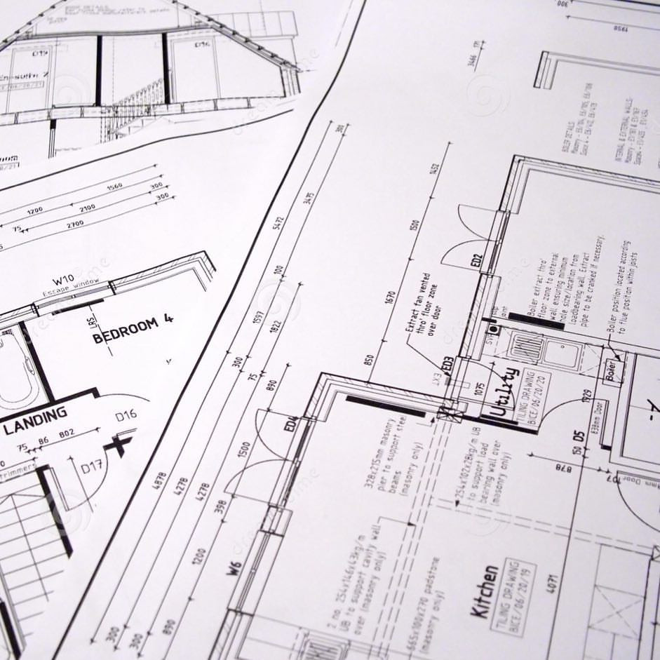 Kitchen drawings & plans