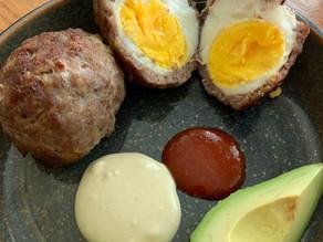 "Simple Narcissus Meatballs (a.k.a. ""Scotch Eggs"")"