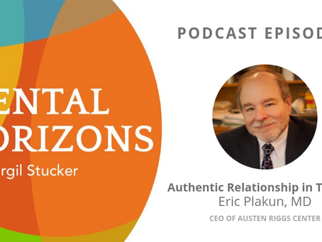 EP8: Authentic Relationship in Therapy with Eric Plakun, MD, of Austen Riggs Center
