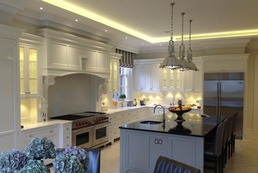 Handmade luxury shaker kitchen London
