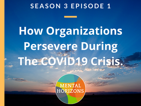 Season 3 of Mental Horizons Podcast: How Organizations Persevere During COVID-19 Crisis.