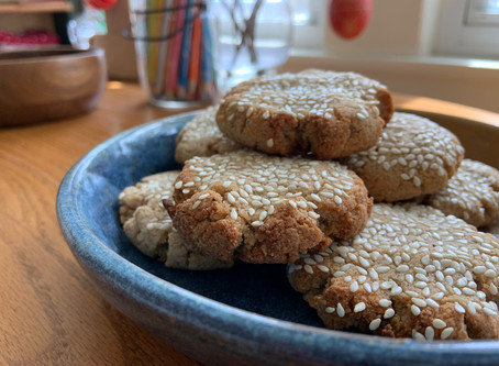 Not Your Grandma's Gingersnaps (with collagen; grain free, high fat and low carb)