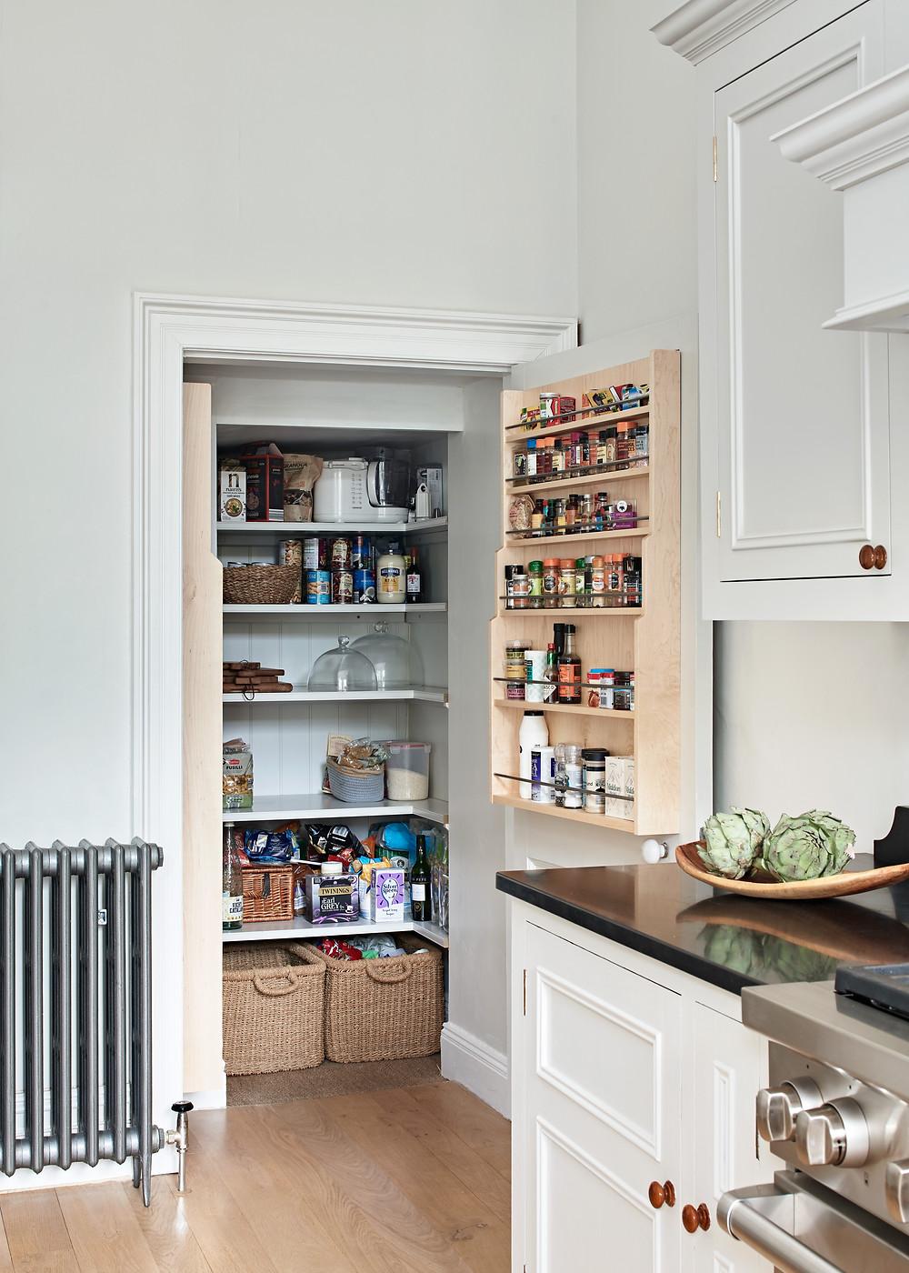 Bespoke pantry design Bristol