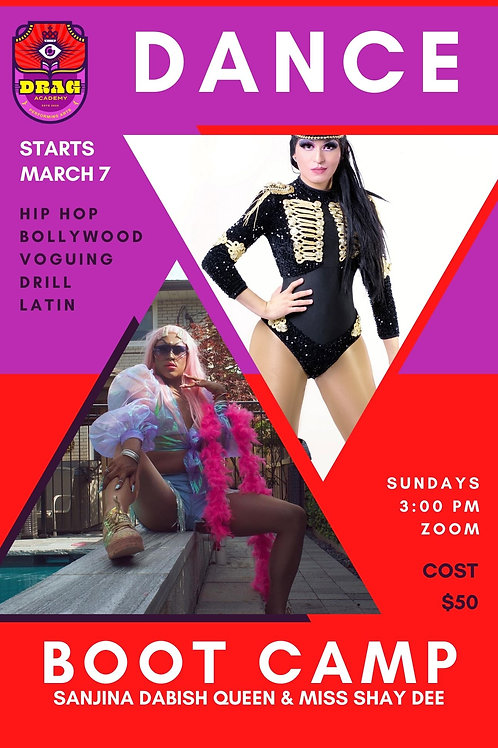 Dance Boot Camp with Miss Shay Dee and Sanjina