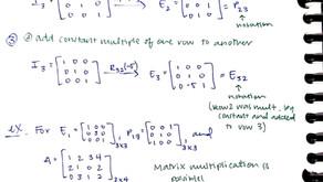 Week 4: Linear Algebra