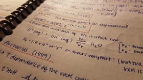 PCHEM Class Notes – Week 12