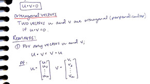 Week 2: Linear Algebra