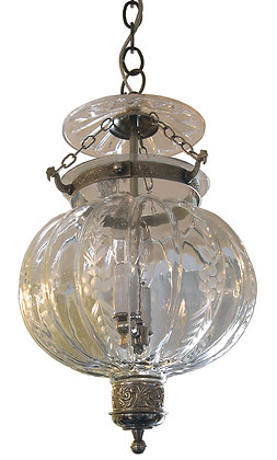 Etched Mellon Bell Jar