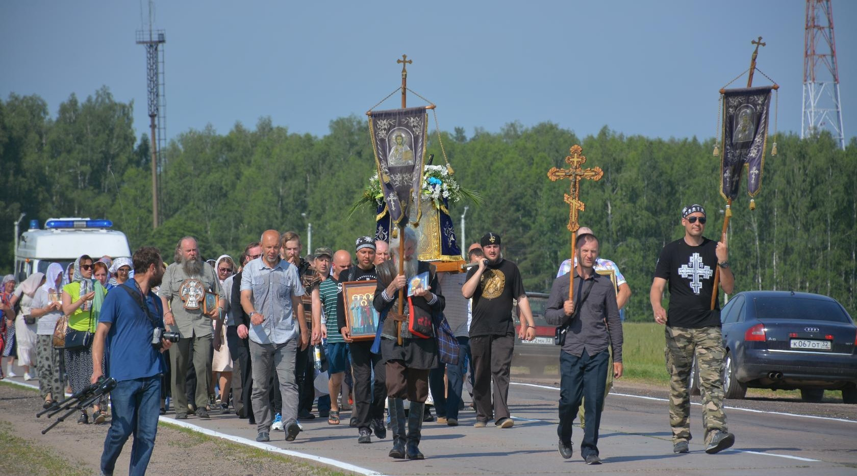 15 июня Крестный ход из Площанской пусты