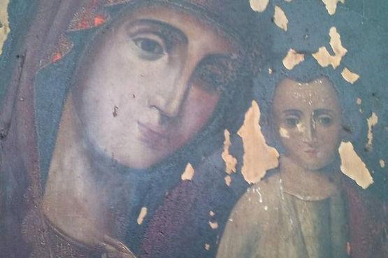 Казанская икона Божией Матери из Свято-В