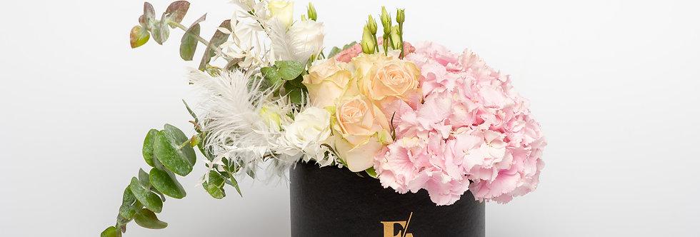 FLOWER BOX ČRN - FLOWERART MIX