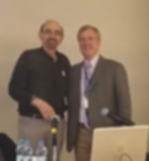 Donald Resnick and Phillip Tirman at Imaging in Prague 2019