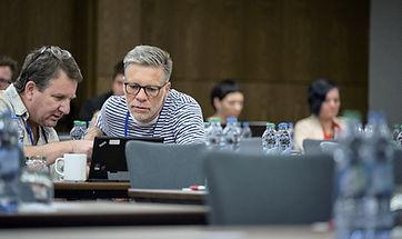 Wayne Rosen and Nicolaas van der Walt at Imaging in Prague 2019