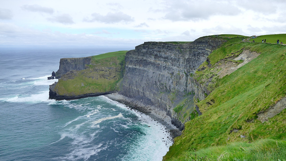 Irish Countryside Cliffs of Mohar