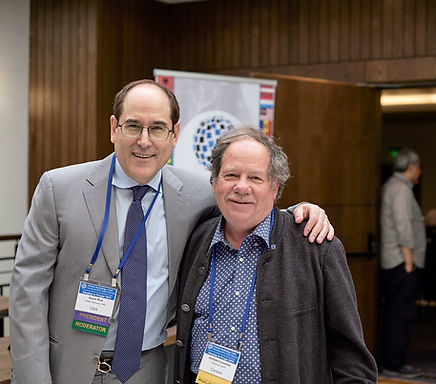Kevin Rice, President GlobalRadiology CMEwith Jacques Levesque Past President of The Canadian Association of Radiologists
