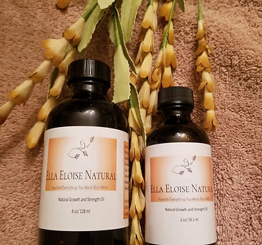 Natural Growth and Strength Hair Oil