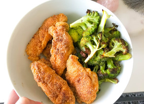 Healthy Chicken Fingers (Paleo, Low Carb)