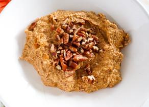 Healthy Pumpkin Porridge (Paleo, Vegan)